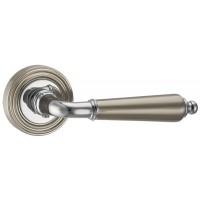 Ручка раздельная LIBRETTO-3 матовый никель/хром