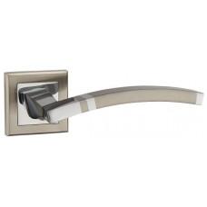 Ручка раздельная NAVY-3 матовый никель/хром