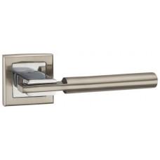 Ручка раздельная SITY-3 матовый никель/хром
